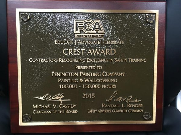 ppc wins fca crest 2015 safety award