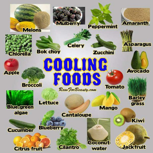 cooling summer foods