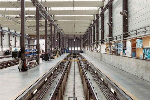 industrial dirty floor